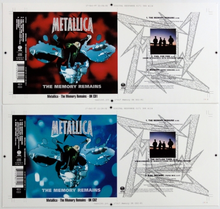 METALLICA UK CD1-CD2